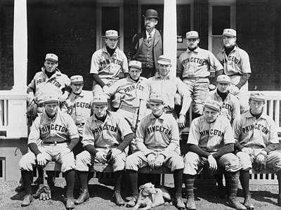 Princeton Baseball Team Print by American School