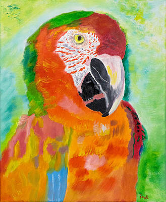 Prisma Parrot Original by Meryl Goudey