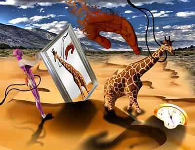 Prisoners Of Time Print by Solomon Barroa
