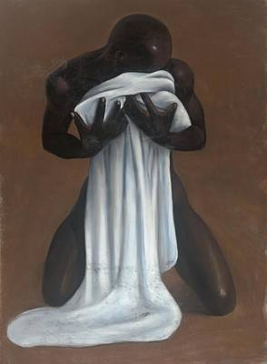 African Erotic Pastel - Private Passion by L Cooper