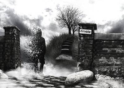 Photograph - Private Way  by Mariusz Zawadzki