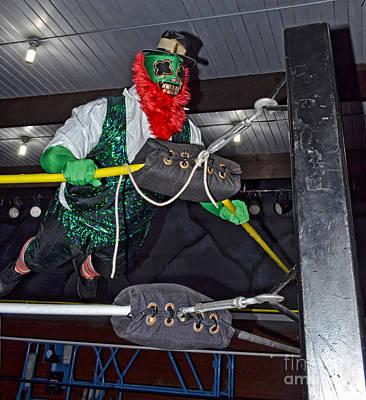 Profile Photograph - Pro Wrestler Shamrock by Jim Fitzpatrick