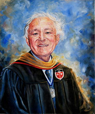 Professor Portrait Commission Print by Hanne Lore Koehler