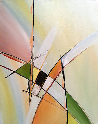 Abstract Painting - Progression by Florentina Maria Popescu