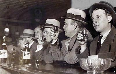 Prohibition Ends Dec 5, 1933 Print by Daniel Hagerman