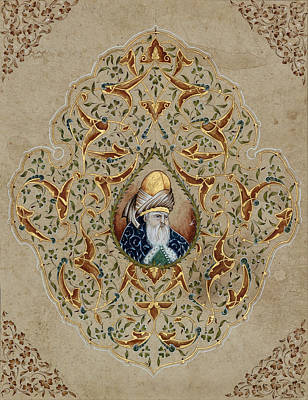 Prophet Mevlana Rumi  Original by Nurhayat Koseoglu Altun