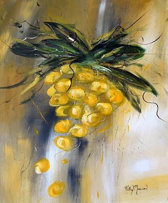 Prosecco Print by Kathy Morawiec