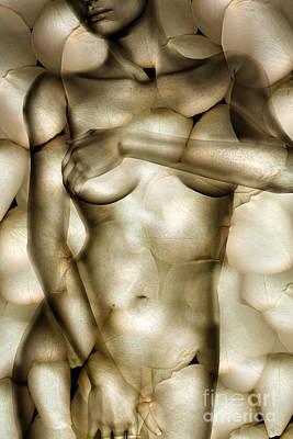 Nude Digital Art - Protected by Jacky Gerritsen