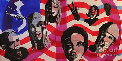 Protest Print by Ann Sokolovich