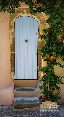 Provence Door 23 Print by Lainie Wrightson