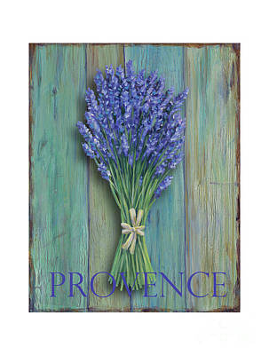 Provence Sign Print by Danielle Perry