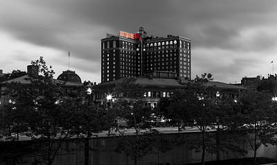 Wetmore Photograph - Providence Biltmore by Andrew Pacheco