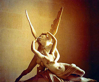Psyche And Cupid Print by Michael Durst