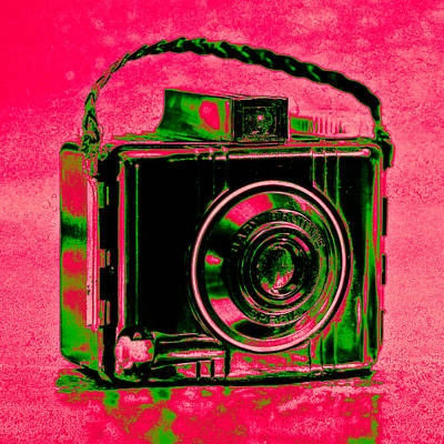 Kodak Photograph - Psychedelic Brownie by Jon Woodhams
