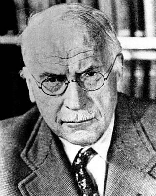 Psychiatrist Photograph - Psychiatrist Carl Gustav Jung, Ca by Everett