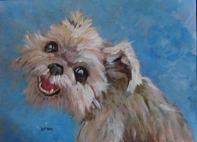 Pudgy Smiles Original by Barbara O'Toole
