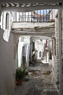 Photograph - Puebla Blanca Capileira by Heiko Koehrer-Wagner