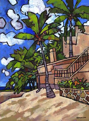 Puerto Vallarta Landscape Print by Douglas Simonson
