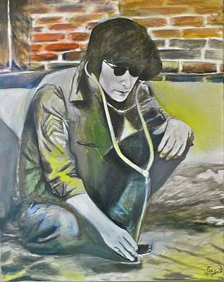 Johnlennon Painting - Pulse John by Lee Madrid
