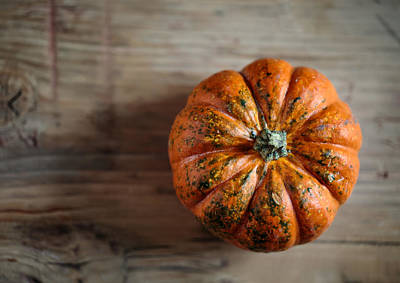 Basket Photograph - Pumpkin by Nailia Schwarz