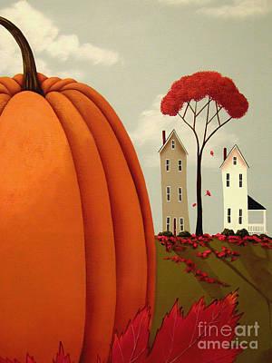 Pumpkin Valley Print by Catherine Holman