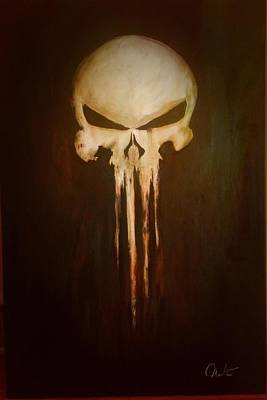 Gerry Painting - Punisher by Matt Martin