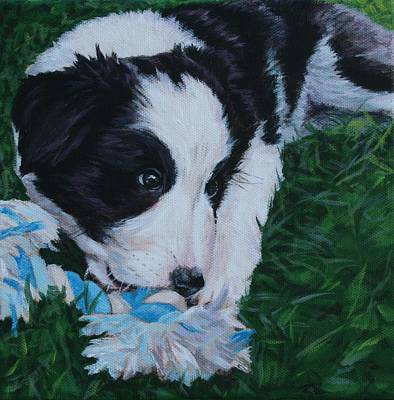 Pup No.1 Original by Wendy Whiteside