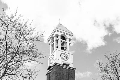 Purdue University Bell Tower Print by University Icons