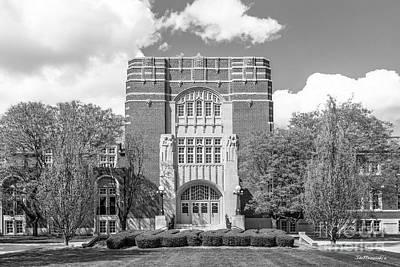 Purdue University Memorial Union Print by University Icons
