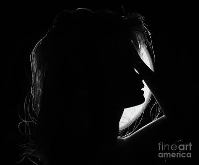Girl Photograph - Pure Moon 1 by Prarthana Kulasekara