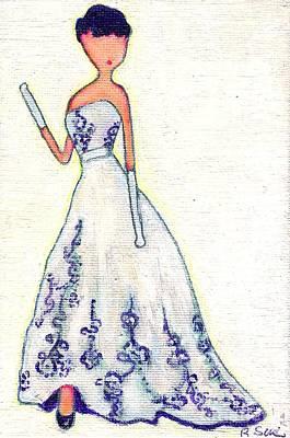 Purely Audrey Print by Ricky Sencion