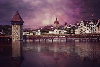 Lucerne Photograph - Purple Haze by Carol Japp