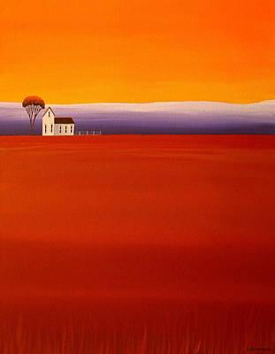 Folk Art Painting - Purple Haze by Debbie Criswell