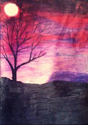 Purple Haze Original by Eliza Paul