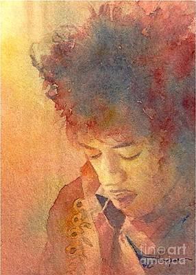 Purple Haze Print by Robert Hooper