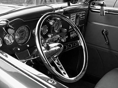 Black White Photograph - Purple Indulgence by Michiale Schneider