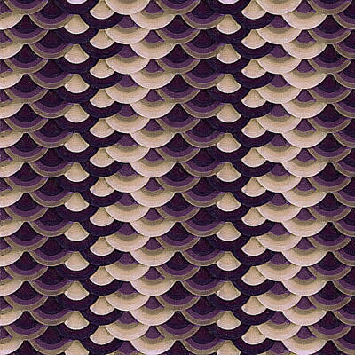 Goldfish Digital Art - Purple Koi by Susan Maxwell Schmidt