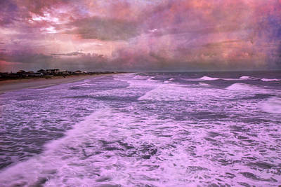 Purple Majesty  Print by Betsy C Knapp