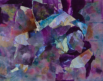 Pearlescent Mixed Media - Purple Passion  by Don  Wright