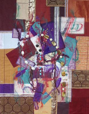 Purple Passion Print by Sue Gilliam
