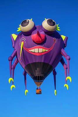 Gondola Photograph - Purple People Eater Floating by Garry Gay