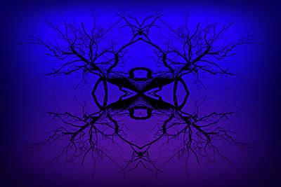 Purple Tree Haze Print by John Williams