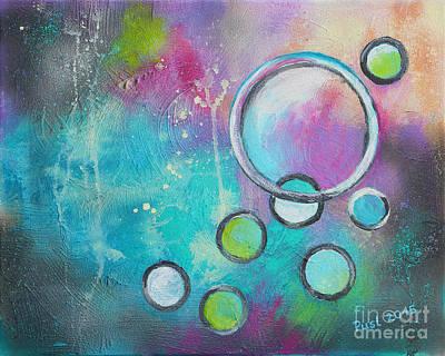 Unity Painting - Pursuit Of Unity by Jutta Maria Pusl