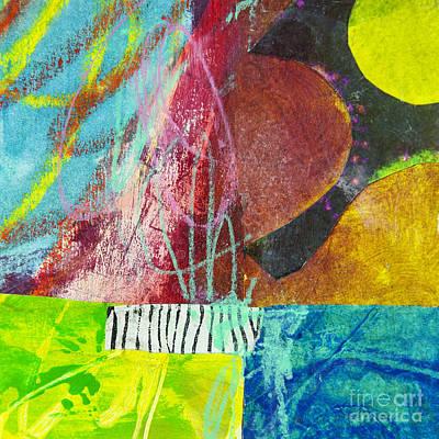 Avant Garde Mixed Media - Puzzle 4 by Elena Nosyreva