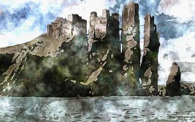 Manipulation Photograph - Pyke Home Of House Greyjoy by Mario Carini