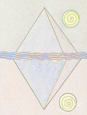 Pyramid Dream Print by Norma Appleton