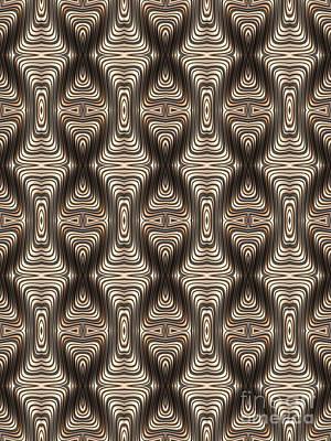 Quadrax Print by John Edwards