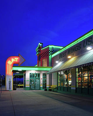 Quaker Steak And Lube Print by Christopher McKenzie
