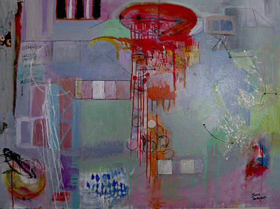 James Gallagher Painting - Quanta Continua by James Gallagher