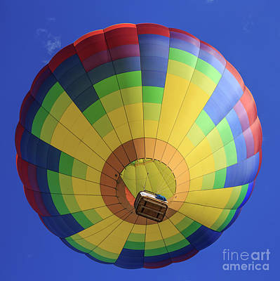 Soaring Photograph - Quechee Vermont Hot Air Balloon Festival 4 by Edward Fielding